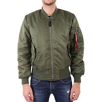 Alpha industries 100101MA1 verde poliestere giacca uomo