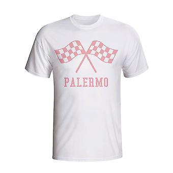Palermo Waving flag t-shirt (bianco)