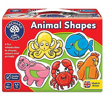 Orchard Toys 021 Animal Shapes