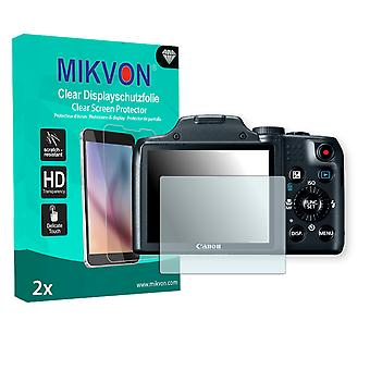 Canon PowerShot SX170 IS Screen Protector - Mikvon Clear (Retail Package with accessories)