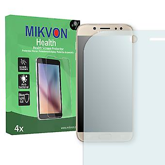 Samsung Galaxy J7 (2017) Screen Protector - Mikvon Health (Retail Package with accessories) (intentionally smaller than the display due to its curved surface)