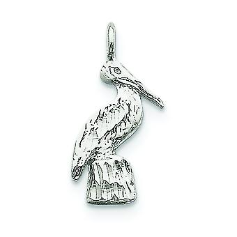 Sterling Silver Pelican Charm - 2.0 gram