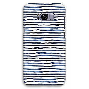 Samsung Galaxy S8 Plus Full Print Case (Glossy) - Surprising lines
