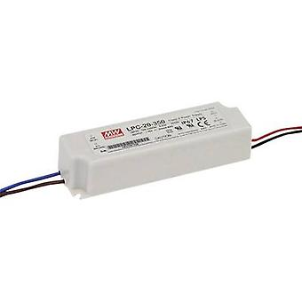 LED driver Constant current Mean Well LPC-20-700 21 W (max)