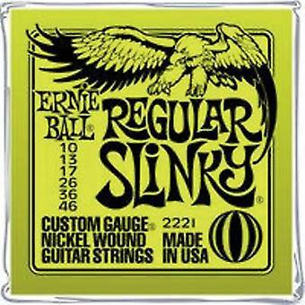 Guitar steel string Ernie Ball EB2221 Regular Slinky 010-046