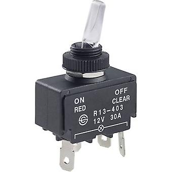 Toggle switch 12 Vdc 30 A 1 x Off/On SCI R13-403A