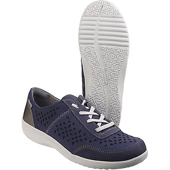 Rockport Womens/dames bayero Tie léger Lace up Chaussures Textile