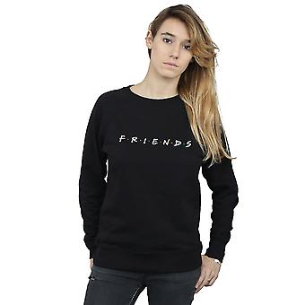 Texte Logo Sweatshirt amis de la femme