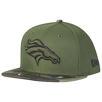 Nowa era 59Fifty Cap - Denver Broncos drewna camo