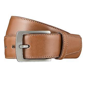 LLOYD Men's Belts Gürtel Herrengürtel Ledergürtel Cognac 3312