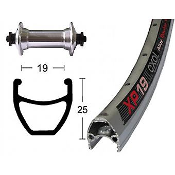 Bike parts 28″ front wheel Exal XP 19 + Shimano tourney TX500 (QR)