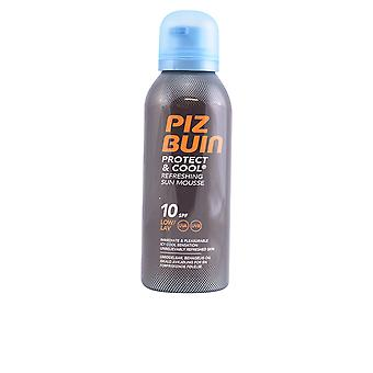 Piz Buin Protect & Cool Sun Mousse Spf10 150 Ml Unisex