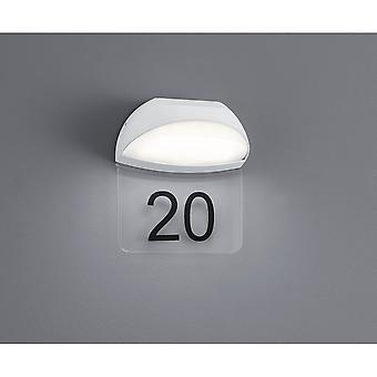 Trio Lighting Muga Modern White Diecast Aluminium Wall Lamp
