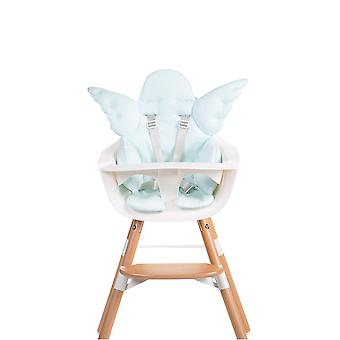 Enfant Accueil-Angel Baby Table siège coussin universel Jersey-bleu menthe