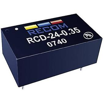 LED controller 36 Vdc 1200 mA Recom Lighting RCD-24-1.20