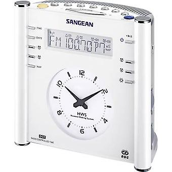 Sangean Atomic 30 FM Radio Wecker AUX, AM, FM White