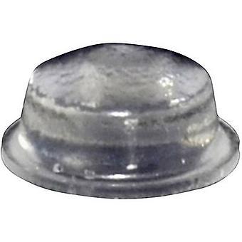 TOOLCRAFT PD2115C Foot self-adhesive, circular Transparent (Ø x H) 11.1 mm x 5 mm 1 pc(s)