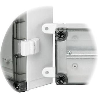 Hinge Acrylonitrile butadiene styrene Light grey Fibox TH A 2 pc(s)