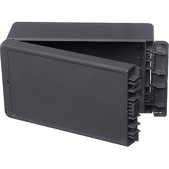 Bopla Bocube B 221309 ABS-7024 Wall-mount enclosure, Build-in casing 125 x 231 x 90 Acrylonitrile butadiene styrene Graphite grey (RAL 7024) 1 pc(s)