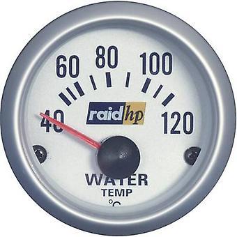 RAID hp 660220 Wasser Temperatur Manometer 40 - 120 ° C voltage12V