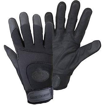FerdyF. ZWARTE veiligheids mechanica 1911 Clarino faux leder werk handschoen maat (handschoenen): 11, XXL EN 388 CAT II 1 paar
