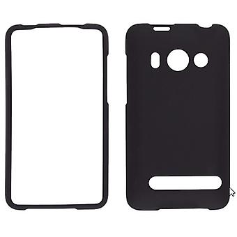 5 Pack -Wireless Solutions Soft Touch Snap-On Case for HTC EVO 4G - Black