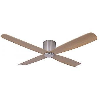 Energy-saving ceiling fan Fraser Hugger Brushed Chrome