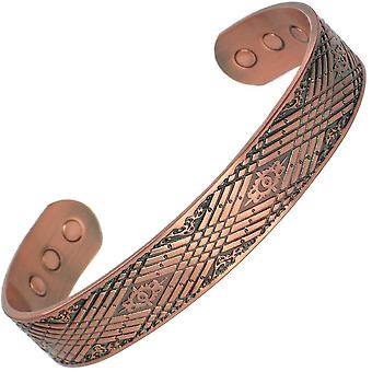 MPS® MEDUE Pure Copper Magnetic Bangle with 6 Magnets + Free Luxury Gift Pouch