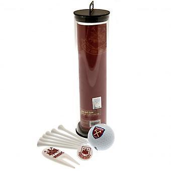 West Ham United Golf Tube cadeau