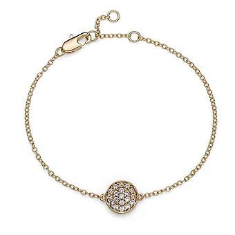 Oliver Weber Armband Pin Gold Kristall