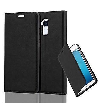 Cadorabo case for honor 5C - Mobile case with magnetic closure, stand function and card holder - case cover sleeve pouch bag book Klapp style