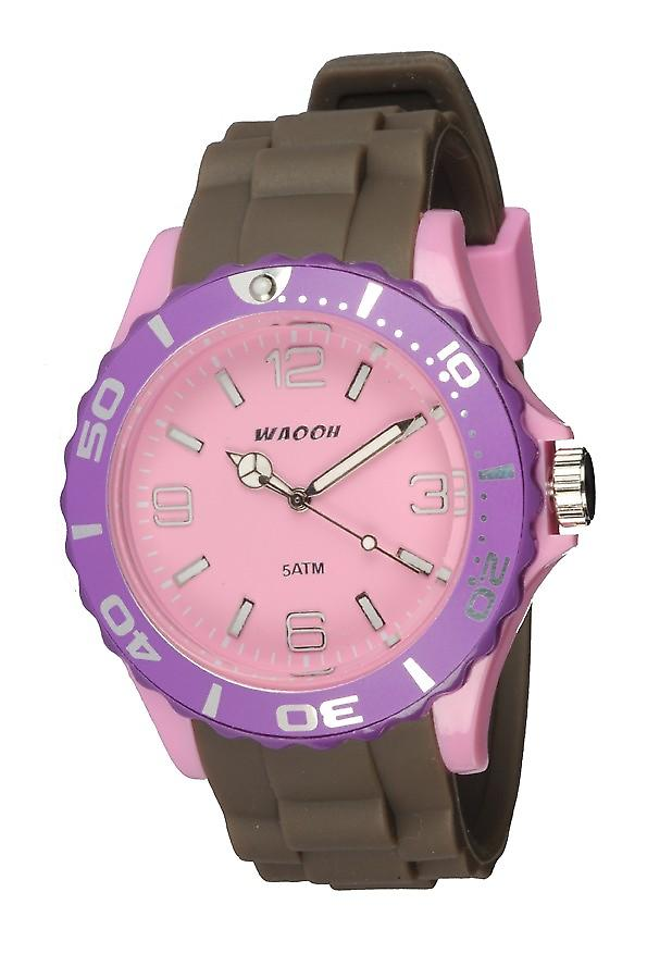 Waooh - Montre MC42 Tricolore rose & violet