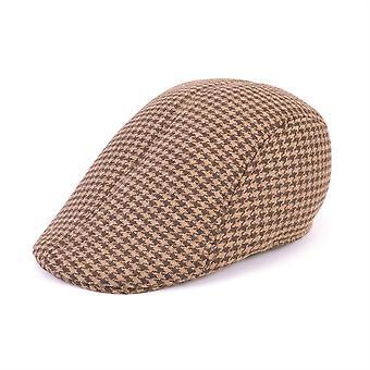 Flat Cap Tweed Brown