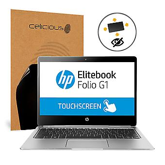 Celicious Privacy Plus 4-Way Anti-Spy Filter Screen Protector Film Compatible with HP Elitebook Folio G1 (Touch)
