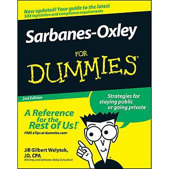Sarbanes-Oxley For Dummies (2. reviderede udgave) af Jill Gilbert Wely