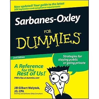 Sarbanes-Oxley para Dummies (2da edición revisada) por Jill Gilbert Wely