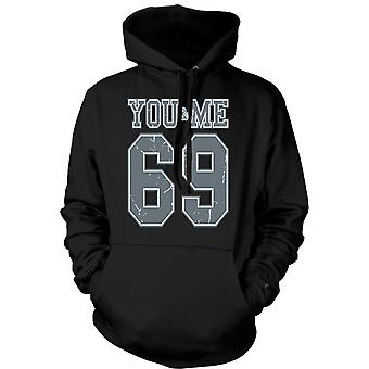 Kids Hoodie - You And Me 69 - College Football - Funny