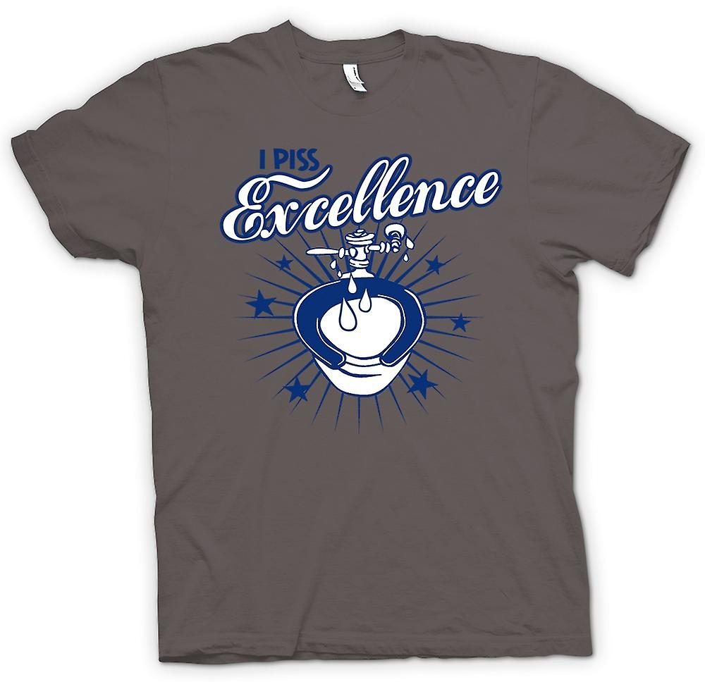 Womens T-shirt - ich Piss Excellence - lustig