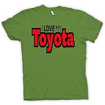 Mens T-shirt - I Love My Toyota - Car Enthusiast