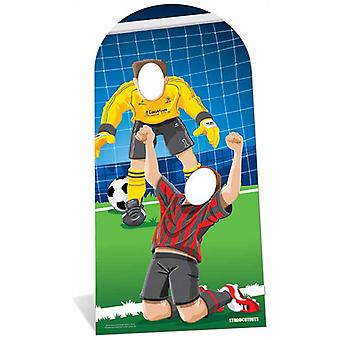 World Cup Footballer Lifesize Cardboard Stand-in Cutout / Standee / Standup