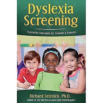 Dysleksi Screening: Viktige konsepter for skoler & foreldre: Richard Selznick, PH. D.