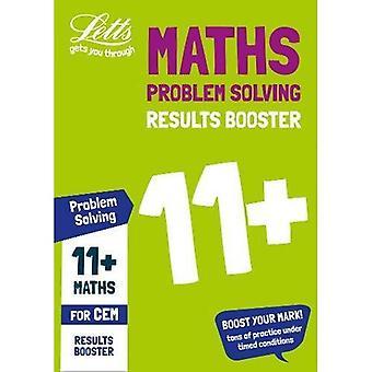 11 + problem Solving resultat Booster för CEM test: riktade övningsarbetsboken (Letts 11 + framgång) (Letts 11 + framgång)