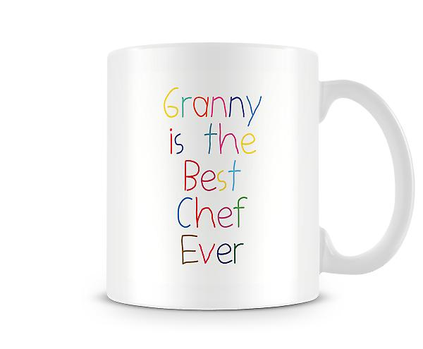Granny Is The Best Chef Ever Mug