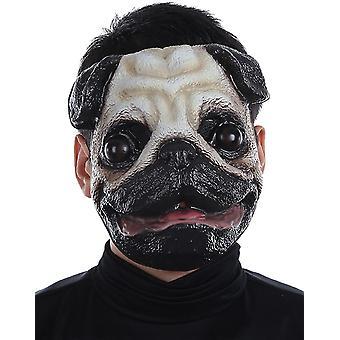 Pug Plastic Face Mask