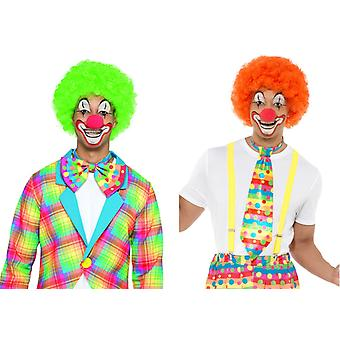 Clown wig accessory lured circus Carnival wig