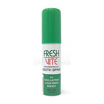 FreshVite Mouth Spray for longer lasting clean breath 15ml MOUTH AND BREATH