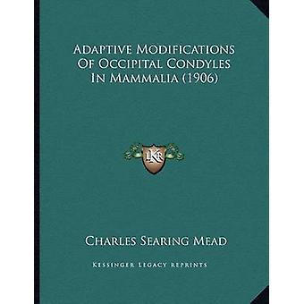 Adaptive Modifications of Occipital Condyles in Mammalia (1906) by Ch