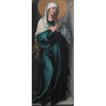 The Virgin as Mater Dolorosa,Albrecht Durer,80x32cm