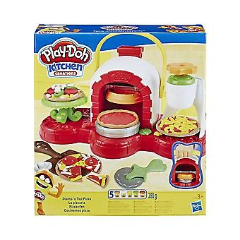 Play-Doh Kitchen Creations Spin N Top Pizza Set