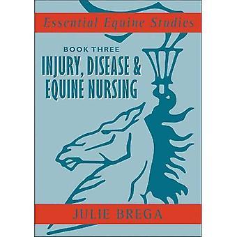 Essential Equine Studies: Injury, Disease and Equine Nursing: Bk. 3 (Essential Equine Studies)